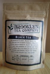 Brooklyn Tea Company Tea Package