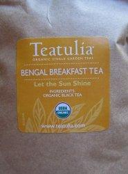Teatulia Bengal Breakfast Tea Package