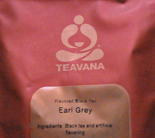 Teavana Earl Grey Tea Package