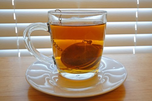 Brewing Tea with Tea Ball