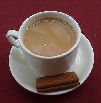 British-style tea