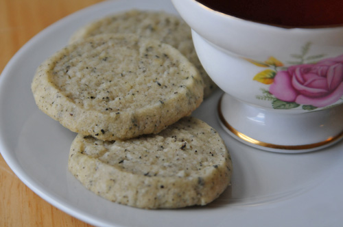 Earl Grey Shortbread and Teacup