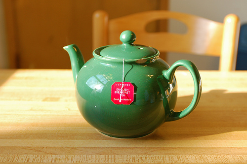 English Breakfast Tea in Tea Pot