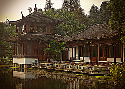 Tea House in Hangzhou