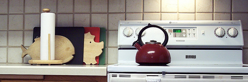 Stove top tea kettle
