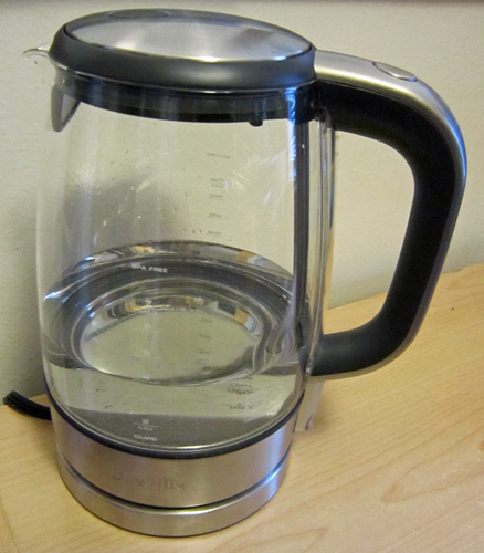 Water in Tea Kettle