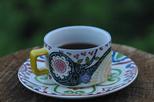Black Tea in Teacup