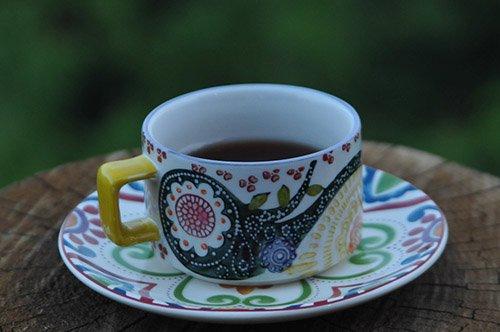 Black Tea in Teacup